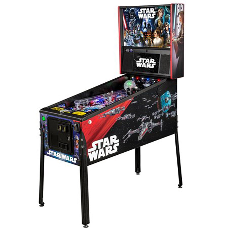 Stern-Pinball Star Wars Premium Comic Art
