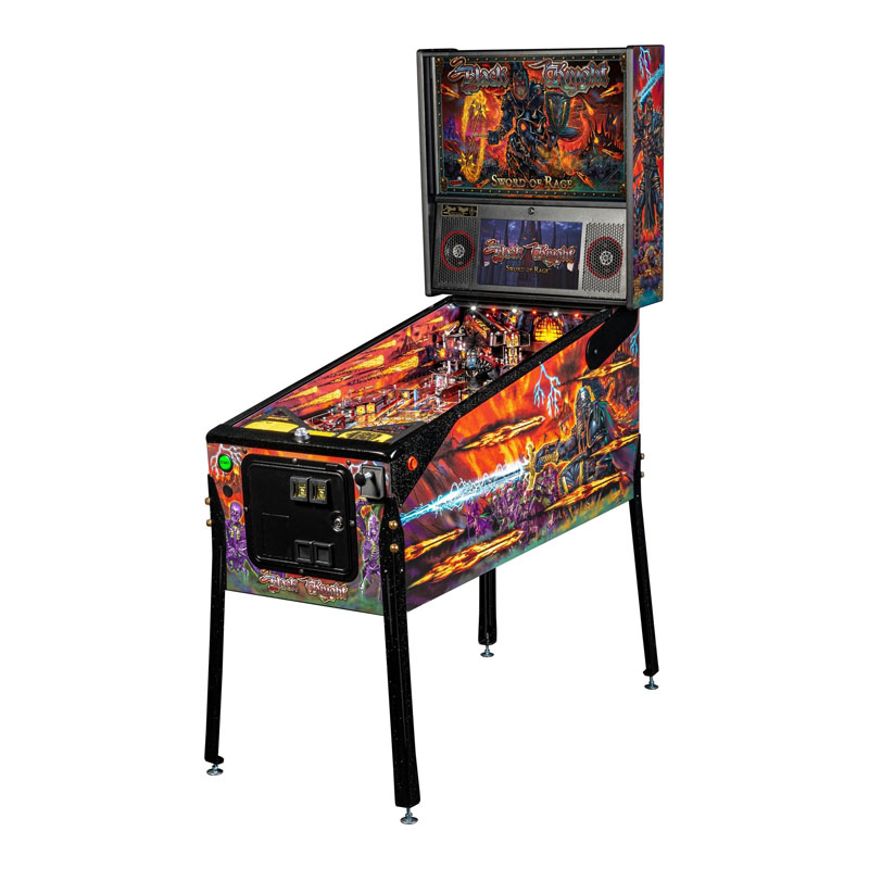Stern-Pinball Black Night: Sword of Rage LE